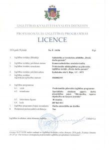 Licence_40h DA_buvnieciba